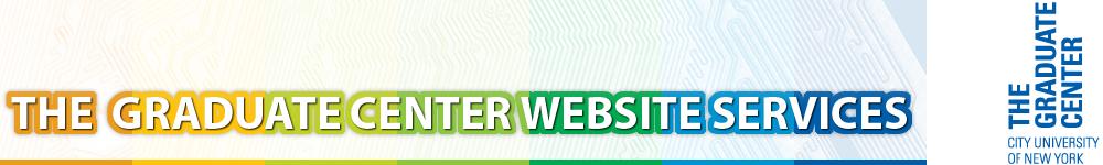 Graduate Center Website Services