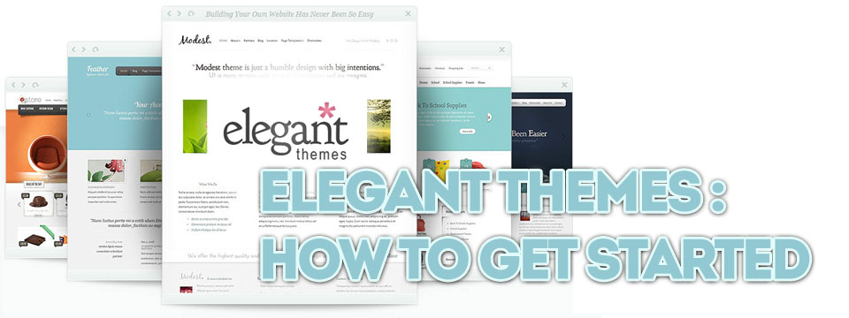 Elegant Themes: Getting Started