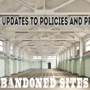 Policies and Procedures Update for Abandoned sites